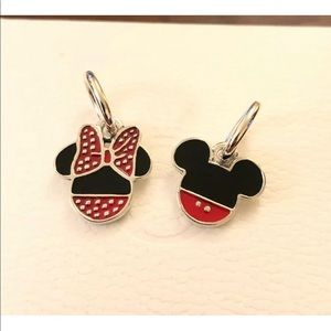 Pandora Mickey & Minnie Icon Set Charm Pendant